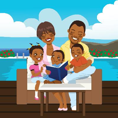 Happy Family | Clipart