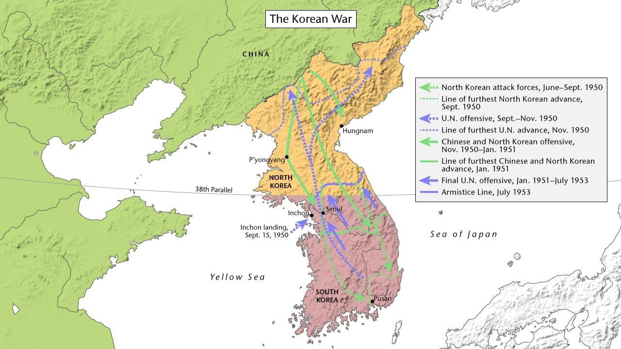 The Korean War | PBS LearningMedia