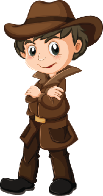 Young Detective | Clipart