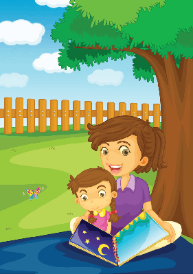In the Park | Clipart