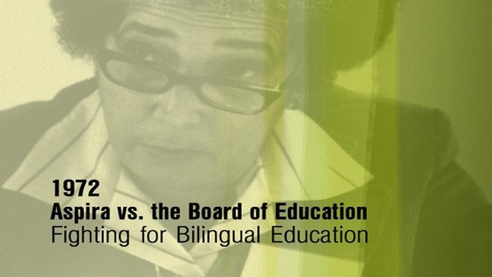 Antonia Pantoja: ¡Presente!   ASPIRA v Board of Education (Clip 3 of 4)