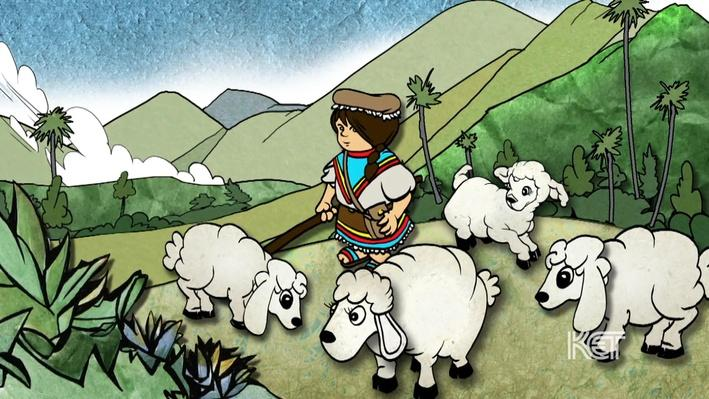 Columbian Folktale: Pastorcita (Spanish)