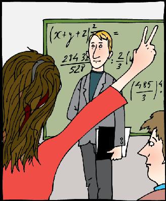 Math Class | Clipart