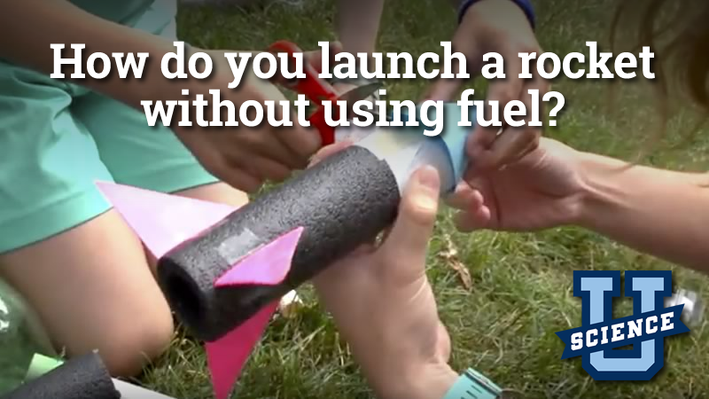 How Do You Launch a Rocket Without Using Fuel? | Science-U