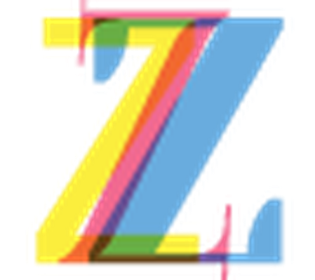 Four-Color Alphabet Letters - Z | Clipart