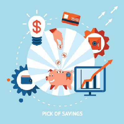 Pick of Savings | Clipart