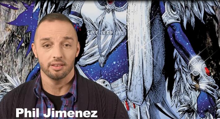 Meet Comic Book Artist Phil Jimenez