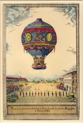 Balloon Artwork, 1783