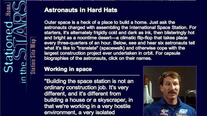 Astronauts in Hard Hats