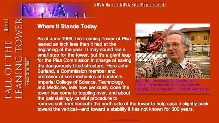 NOVA | The Leaning Tower: Where It Stands Today