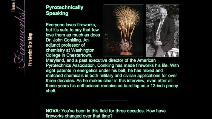 Fireworks: Pyrotechnically Speaking