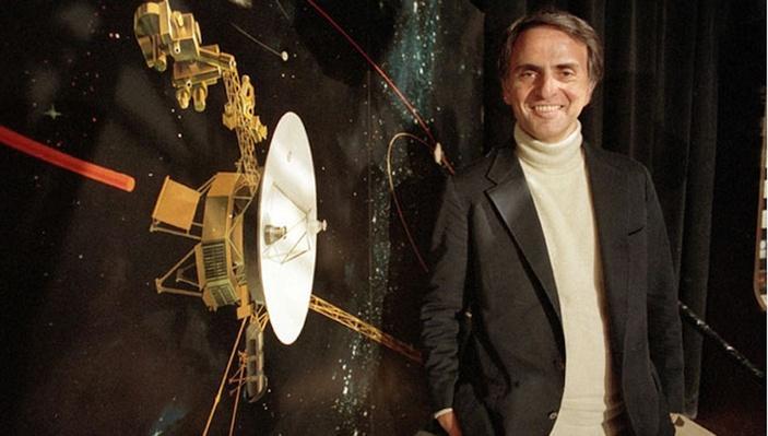 Sagan on Time Travel