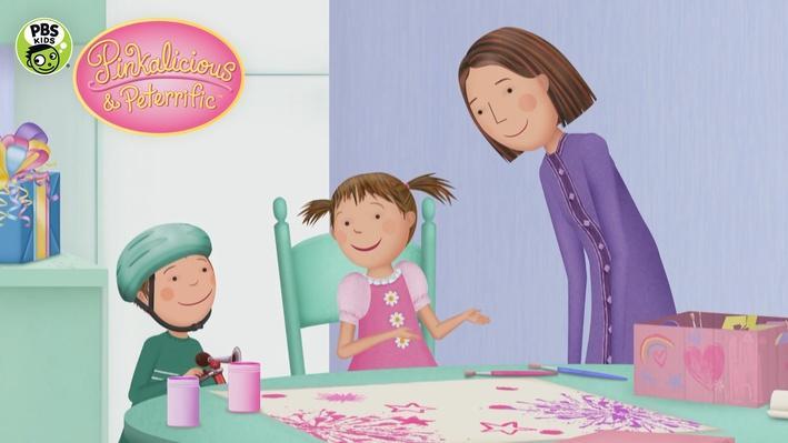 Best Pink Present   PINKALICIOUS & PETERRIFIC™