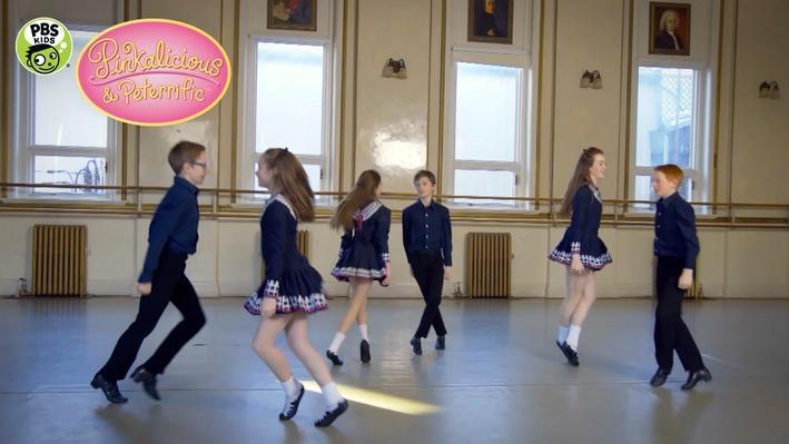 Irish Jig Dancers | PINKALICIOUS & PETERRIFIC®