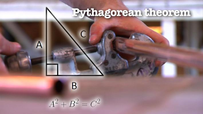 Pipefitter and the Pythagorean Theorem