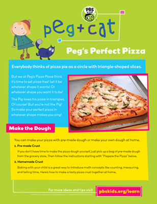 Peg's Perfect Pizza | Peg + Cat