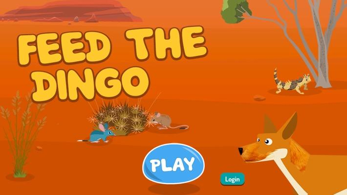 Feed the Dingo: A Desert Ecosystem Game