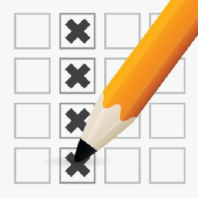Pencil Check Option | Clipart