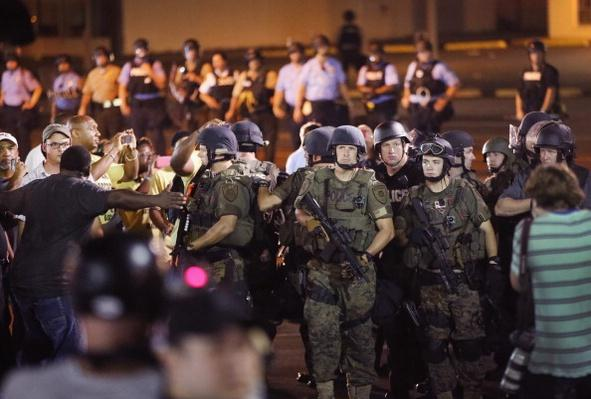 2Amid The Chaos In Ferguson, Another Police Shooting