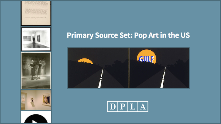 Primary Source Set: Pop Art in the US