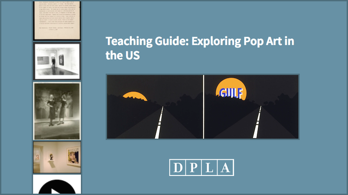 Teaching Guide: Exploring Pop Art in the US