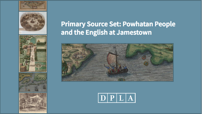 Primary Source Set: Powhatan People and the English at Jamestown