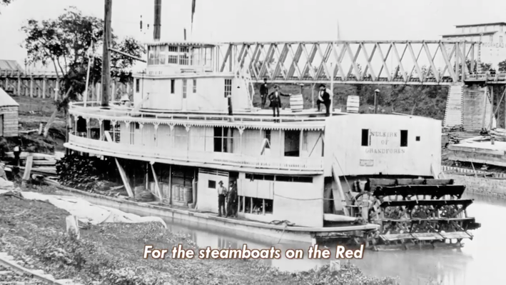 Elisa Korenne: Steamboats on the Red