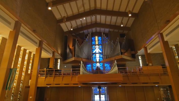 Holtkamp Pipe Organ, Trinity Lutheran Church, Moorhead MN