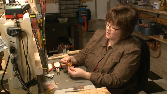 Shelli Fenske: Jewelry Maker | Prairie Mosaic Shorts