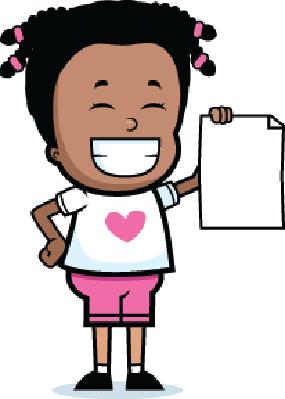 Girl Paper | Clipart