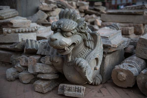 A Salvaged Stone Statue | Global Oneness Project