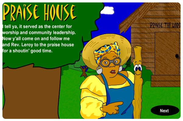 Gullah Music: Praise House Interactive