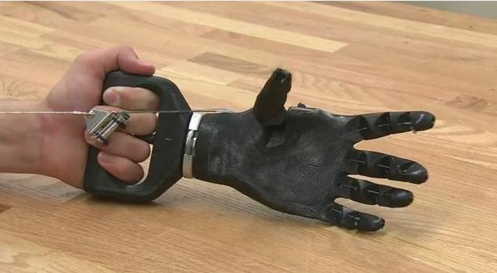 Inside Science | Printable Prosthetic Hand