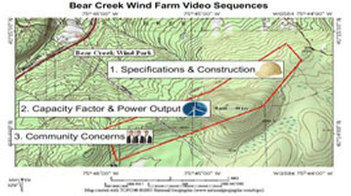 Bear Creek Wind Farm Tour
