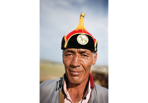 A Herder Proudly Wears a Medal | Global Oneness Project