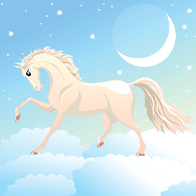 Magic Horse | Clipart