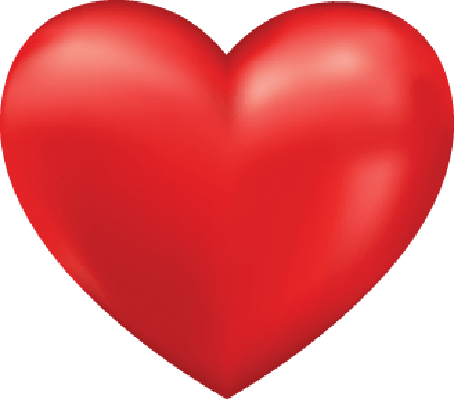 Shiny 3D Heart | Clipart