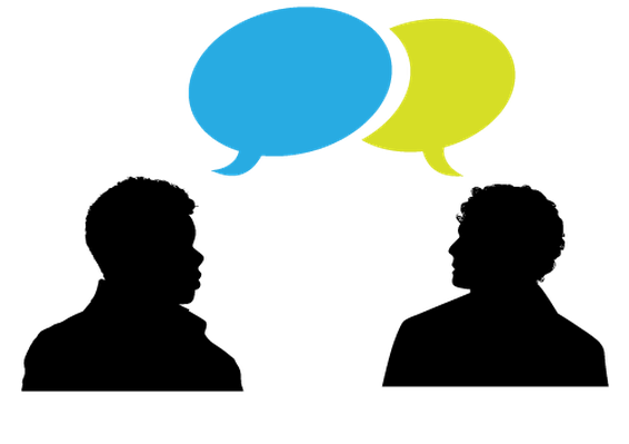 speaking heads and speech bubble clipart the arts image pbs rh pbslearningmedia org speaker clipart clipart person speaking