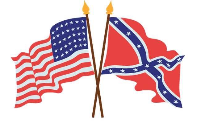 American Civil War Flags | Clipart