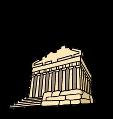 Landmarks - Parthenon | Clipart