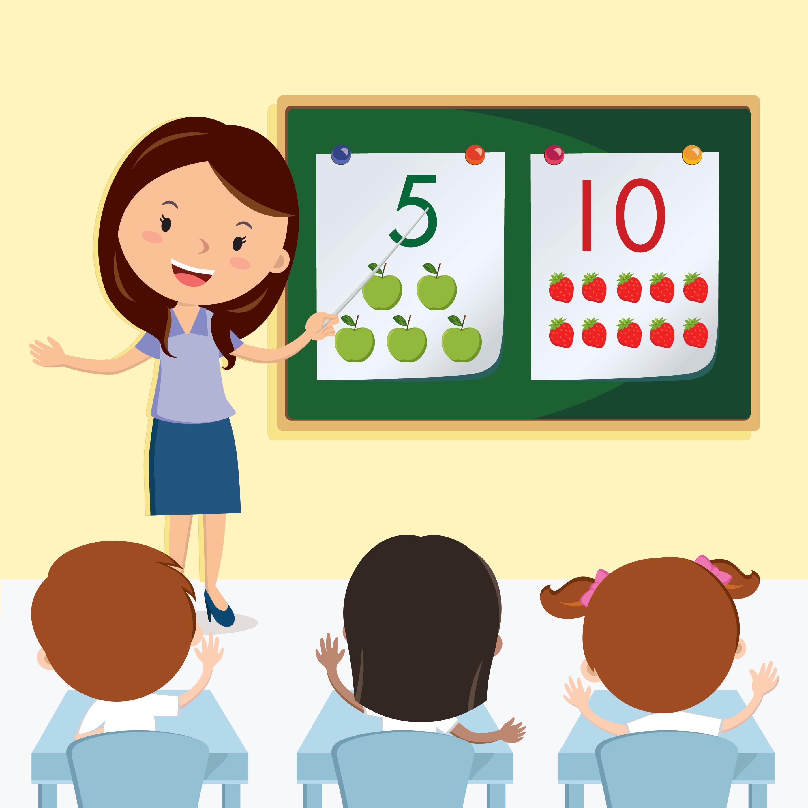 Teacher Teaching In The Class Clipart Pbs Learningmedia