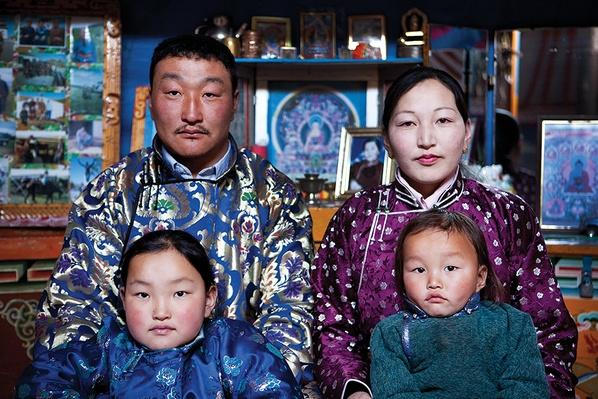 Portrait of a Herding Family | Global Oneness Project