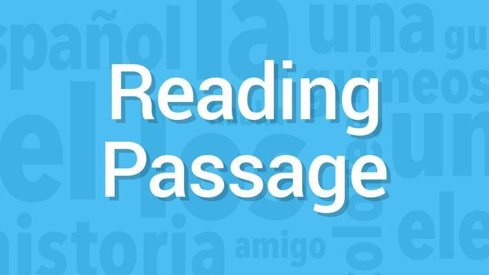 How to Prepare a Speech / Cómo preparar una ponencia | Reading Passage | Supplemental Spanish Grades 3-5
