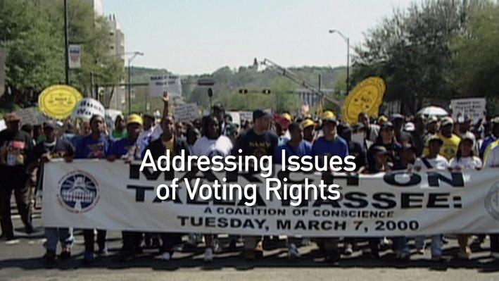 Addressing Issues of Voting Rights