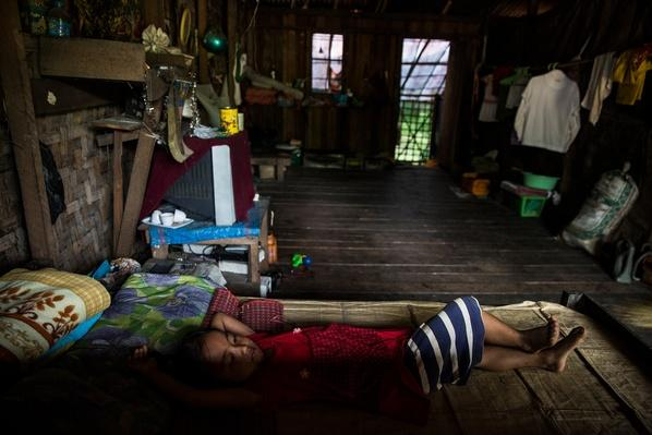Young Girl Resting | Global Oneness Project