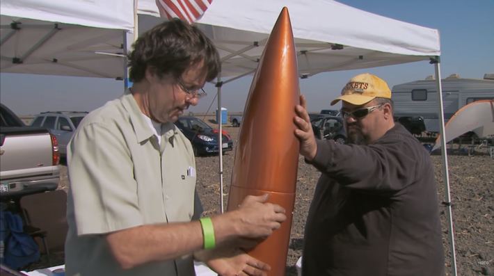 Amateur Rocketeers Reach For The Stars - KQED QUEST