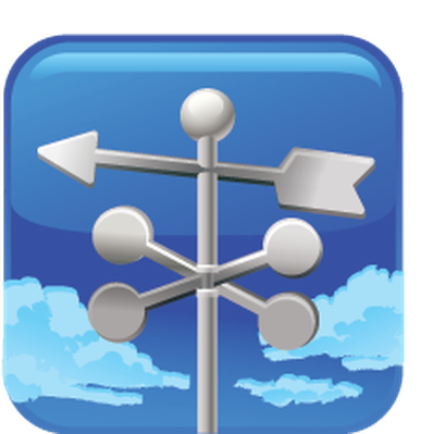 Directional Weathervane | Clipart