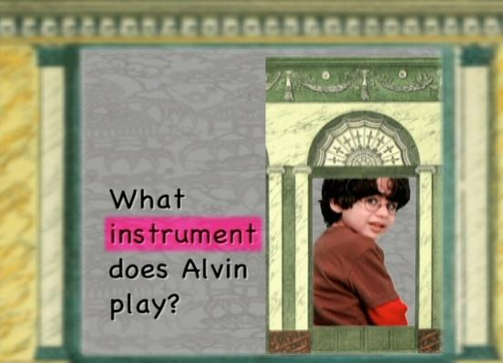 What Instrument Does Alvin Play?