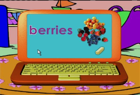 Word Morph: bananas-berries-butter