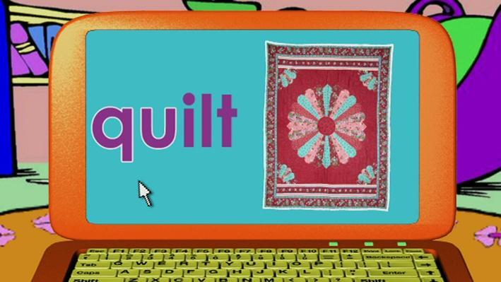 Word Morph: quarter-quail-quill-quilt